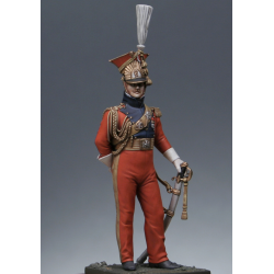 Officier des lanciers rouges de la Garde 1813