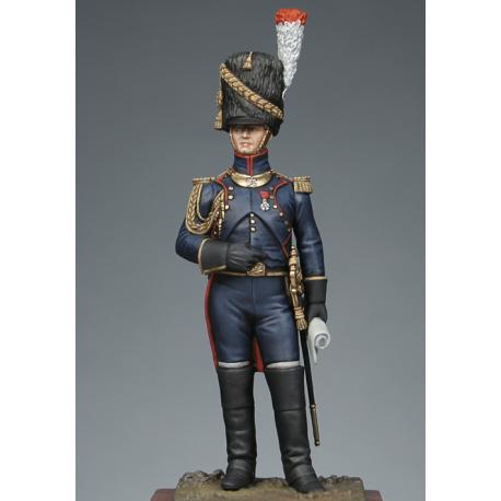 Officier d'artillerie à pied de la garde 1810