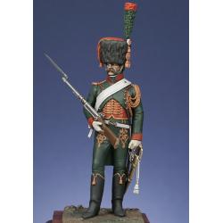 Chasseur à cheval de la Garde 1807 tenue d'escorte