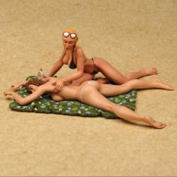 Partie de plage