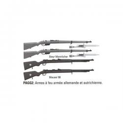 Set d'armes à feu - Troupe française WWI