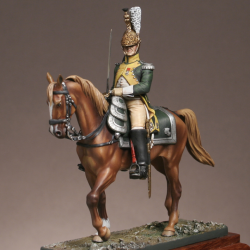 Officier du 19ème régiment de dragons 1809