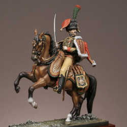 Officier de chasseurs à cheval de la garde