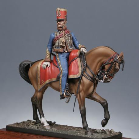 Capitaine du 9ème rgt. de hussards 1814