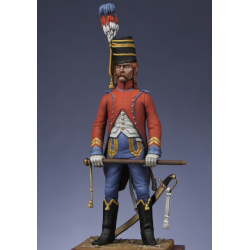 Brigadier - trompette du 9ème hussards - Révolution
