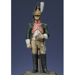 Officier du 13 ème rgt. de dragons 1807
