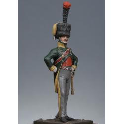 Officier de chasseurs à cheval 4ème rgt. 1809