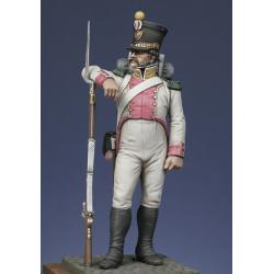 Royaume de Naples, voltigeur du 8ème rgt. 1813