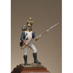 Voltigeur d'infanterie de ligne réglement de 1812