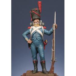 Carabinier du 2ème rgt. étranger - Isenbourg 1806