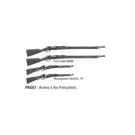 Set d'armes à feu - Troupes allemande/autrichienne WWI