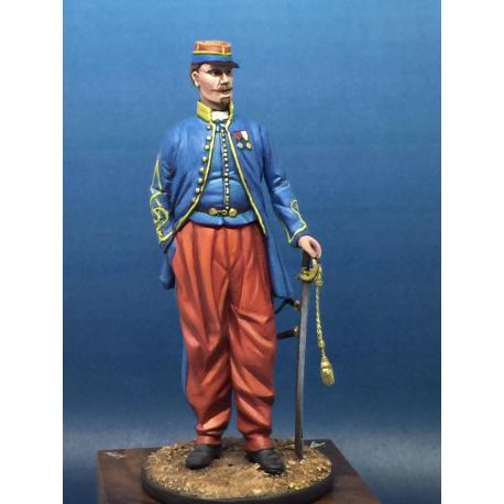 Lieutenant des Tirailleurs 1864