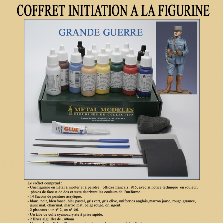 Coffret Initiation a la Figurine WW1
