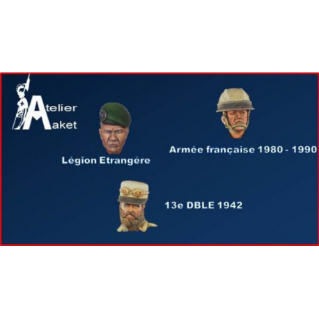 French army heads