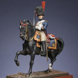 Grenadier à cheval de la Garde, Maréchal des logis