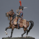 Officier d'artillerie à cheval de la garde