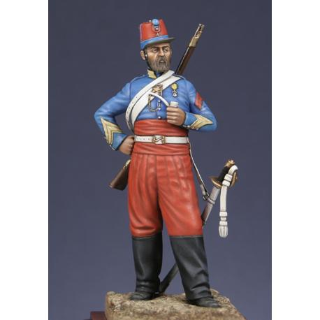 Brigadier des chasseurs d'Afrique - Crimée 1854