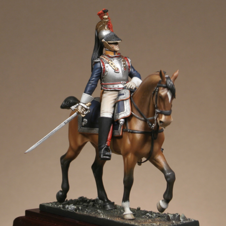 Officier de cuirassiers 1813
