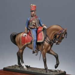 Capitaine du 9ème rgt. de hussards 1814