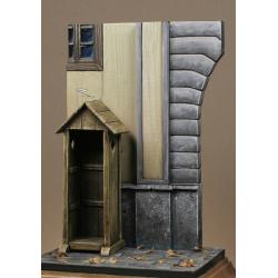Porte de caserne + guerite