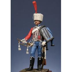 Trompette du 1er rgt. de hussards 1806 compagnie d'élite