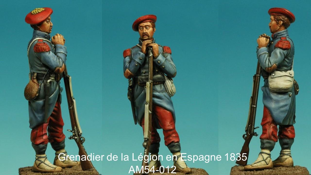 grenadier de la legion etrangere espagne